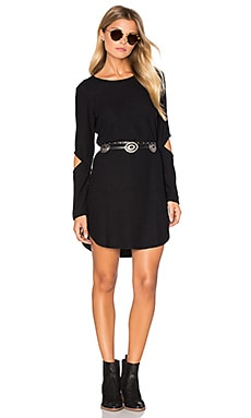 LNA Dorado Dress in Black