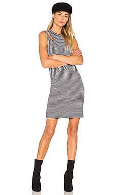 Stripe Slice Tank Dress