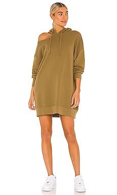 x REVOLVE Lion Hoodie Sweatshirt Dress LNA $49 (FINAL SALE)