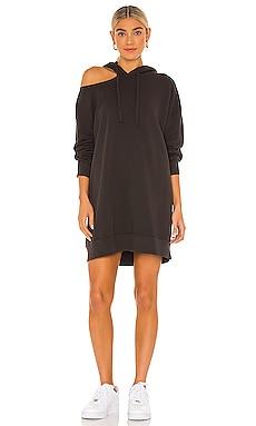 x REVOLVE Lion Hoodie Sweatshirt Dress LNA $57