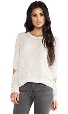 LnA Durango Sweater in Ecru