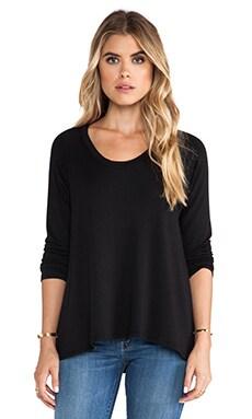 LNA Backtail Pullover in Black