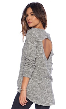 LNA Alissar Pullover in Heather Grey