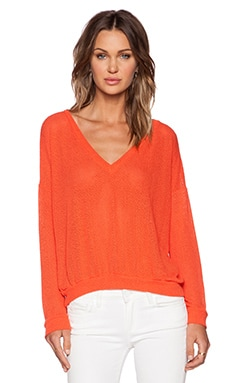 LNA Toulouse Sweater in Red