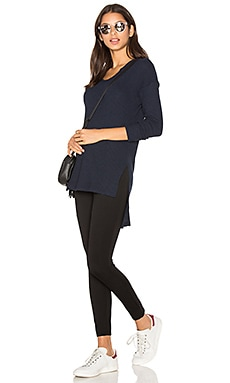 LNA Eva Sweater in Midnight