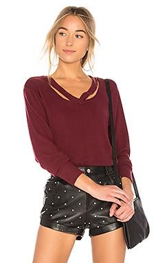 Double Fallon Sweater