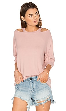 Bolero Sweater en Crystal Rose