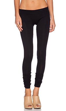 LNA Olivia Legging in Flat Black