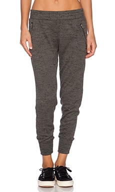 LNA Newport Sweatpant in Leek