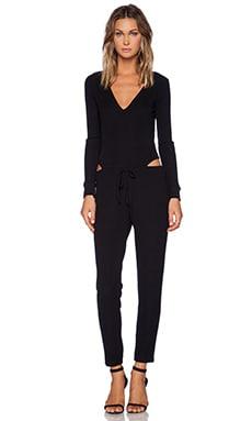 LNA Daniel Jumpsuit in Black