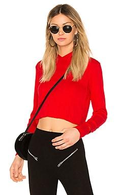 Купить Свитшот с капюшоном marx - LNA, Длинные рукава, США, Красный