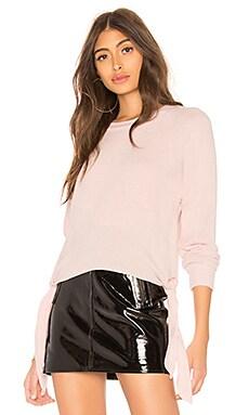Фото - Топ с длинным рукавом - LNA розового цвета