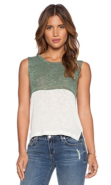 LNA Danni Tank in Jade & Natural