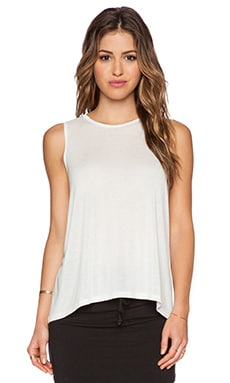 LNA Bella Tank in White