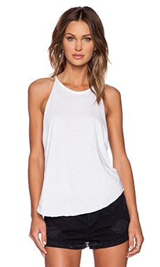 Bib Tank in White
