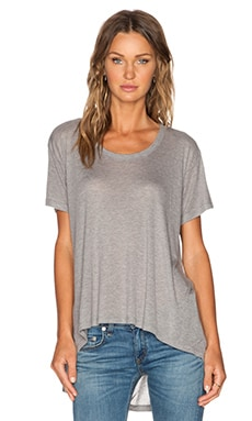 LNA Odell Tee in Heather Grey
