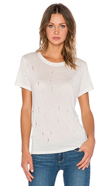 LNA Distressed Tee in Scour