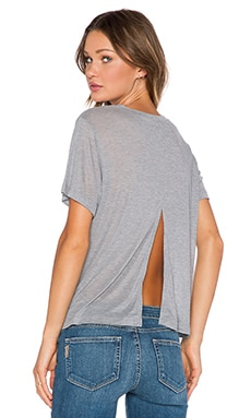LNA Stern Tee in Heather Grey
