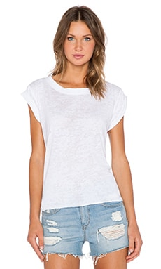 LNA P.E. Tee in White