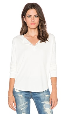 LNA Thermal Henley in Ivory