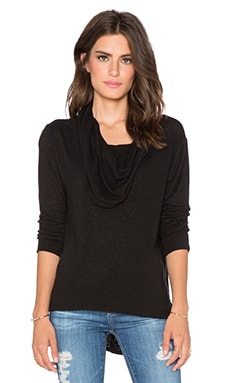 LNA Scarf Top in Black