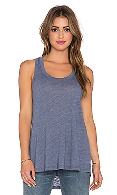 LNA Channing Tank in Blue Jay