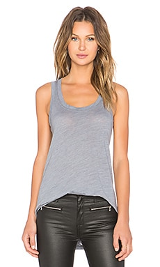 LNA Channing Tank in Off Black
