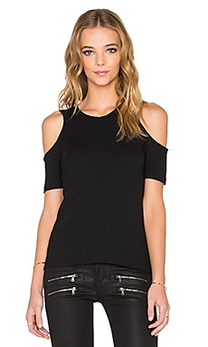 LNA Ashley Jane Top in Black