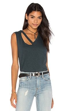 Fallon Tank en Washed Black