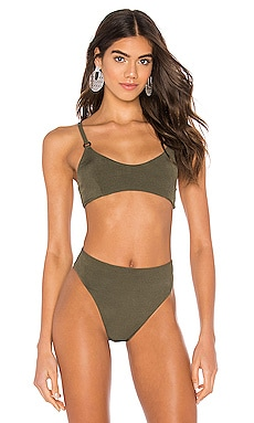 Cayman Cage Bikini Top LNA $49
