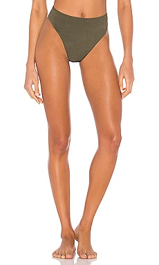 Sorrento High Waist Bikini Bottom LNA $60