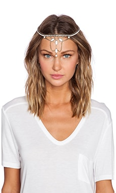 Lionette by Noa Sade Helena Headpiece in White