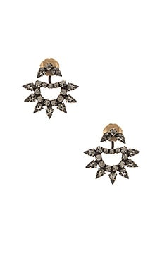 Lionette by Noa Sade Yonti Earring in Brass & Black Diamond