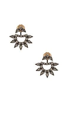 Lionette by Noa Sade Yonti Earring in Brass & Black Diamond