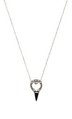 Swarovski Crystal Bryan Necklace in Black