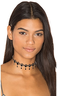 Swarovski Crystal Lecce Choker in Black