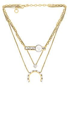 Monaco Layered Necklace Lionette by Noa Sade $378