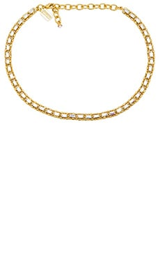 Lionette by Noa Sade Val Choker Necklace in Gold