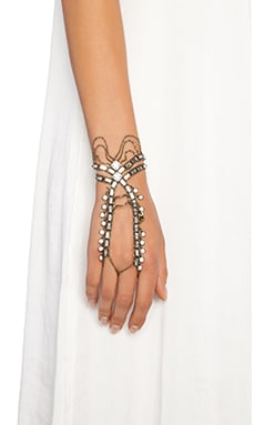 Lionette by Noa Sade Nirvana Handchain in White