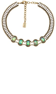 Lionette by Noa Sade Rothchild Choker Necklace in White