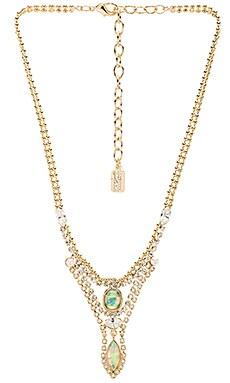 Lionette by Noa Sade Esti Necklace in Gold & White