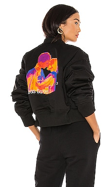 Free Love Bomber Jacket Local Heroes $142