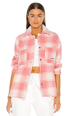 Twiggy Coral Shirt Jacket Local Heroes $96