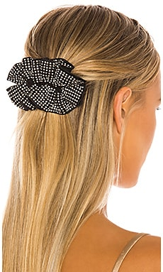 Luna Ruffle Hair Clip Loeffler Randall $75