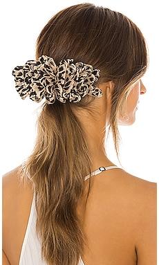 Tavi Ruffle Hair Clip Loeffler Randall $55
