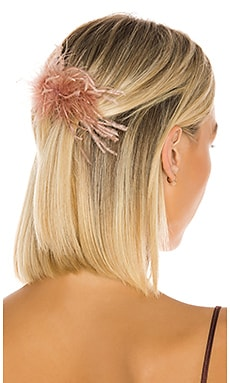 Feather Hair Comb Loeffler Randall $29 (FINAL SALE)