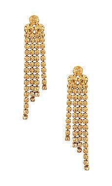 Sabrina Diamante Fringe Earrings Loeffler Randall $69