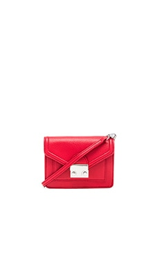 Loeffler Randall Baby Rider Bag in Red