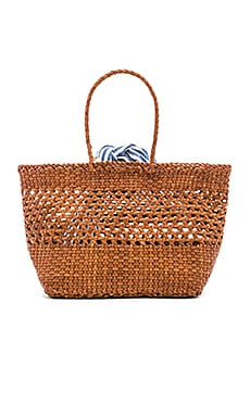 Edith Woven Leather Mini Tote Loeffler Randall $295