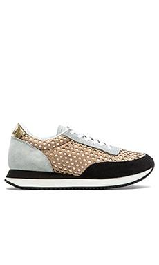 Loeffler Randall Rio Sneaker in Buff Mix